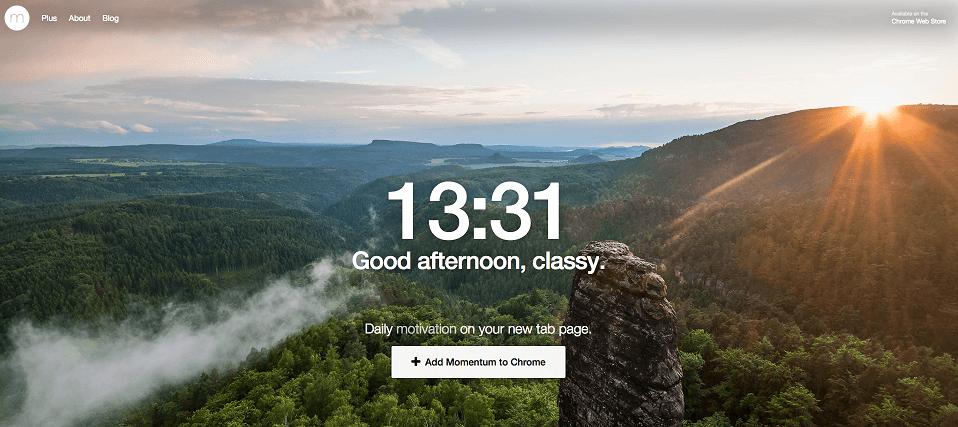 momentum aplikacja większa produktywność