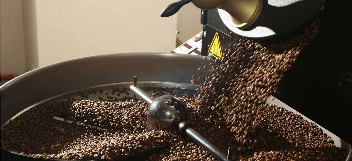 stopien wypalenia ziaren kawy