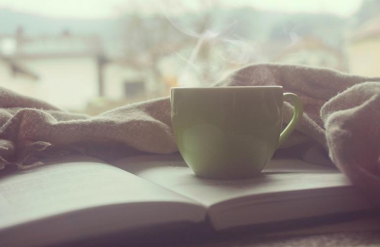kawa i ksiazka